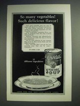 1926 Campbell's Vegetable Soup Ad - Delicious Flavor - $14.99