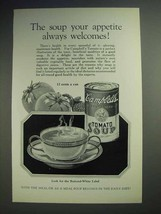 1926 Campbell's Tomato Soup Ad - Appetite Welcomes - $14.99
