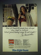 1979 Campbell's Light Ones Soup Ad - Lee Meriwether - $14.99