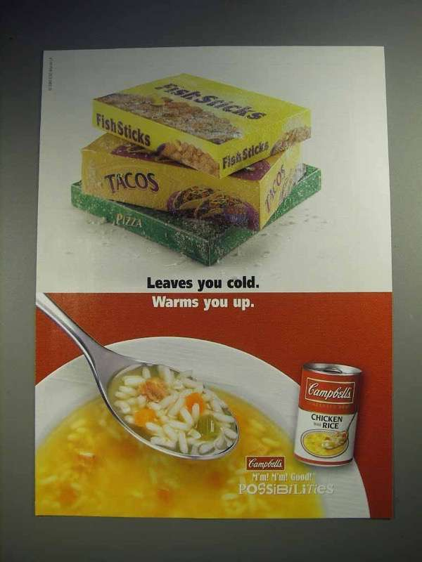 2005 Campbell's Chicken With Rice Soup Ad