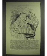 1897 Cuticurra Soap Ad - Our Baby Was Born - $14.99