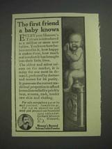 1913 Mennen's Borated Talcum Toilet Powder Ad - First Friend - $14.99