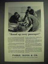 1929 Parke, Davis & Co. Pharmaceutical Ad - Round Up - $14.99