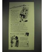 1943 Kotex Sanitary Napkin Ad - I Promised Mom - $14.99