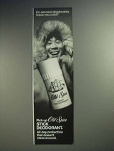 1973 Old Spice Deodorant Ad - Aerosol Leave You Cold? - $14.99