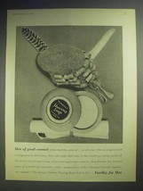 1958 Yardley Shaving Soap Ad - Men of Good Counsel - $14.99