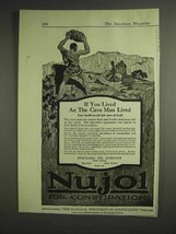 1917 Standard Oil Company Nujol for Constipation Ad - $14.99