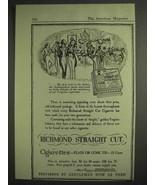 1917 Richmond Straight Cut Cigarettes Ad - $14.99