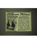 1918 Tennesse Military Institute Ad - Patronage - $14.99