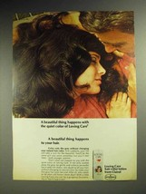 1969 Clairol Loving Care Hair Color Lotion Ad! - $14.99