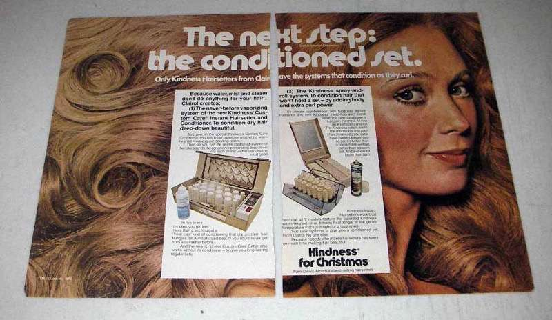 1970 Clairol Kindness Hairsetters Ad - The Next Step