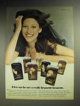 1972 Clairol Nice 'n Easy Hair Color Ad - Lets Me Be Me - $14.99