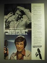1972 Remington Mist-Air Hot Comb Ad - Edd Byrnes - $14.99