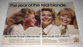 1972 Clairol Born Blonde Hair Color Ad - Real Blonde - $14.99