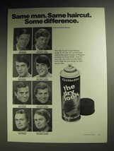 1973 Gillette The Dry Look Hair Spray Ad - Bill Lund - $14.99