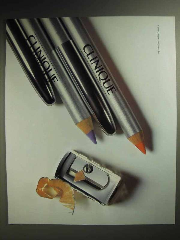 1986 Clinique Eye Liner Pencil Ad!