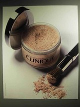 1986 Clinique Blended Face Powder and Brush Ad - $14.99