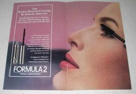 1981 Revlon Formula 2 Mascara Ad - Re-Invents - $14.99