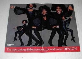 1989 Revlon Makeup Ad w/ Oprah Winfrey - $14.99