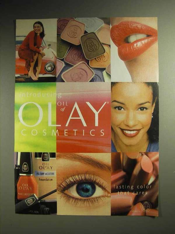1999 Oil of Olay Cosemetics Ad