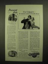 1925 Colgate's Ribbon Dental Cream Toothpaste Ad - Prevent This Use Colgate - $14.99