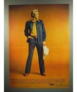 1975 Lee Contempo Western Jean Jacket Ad - $14.99