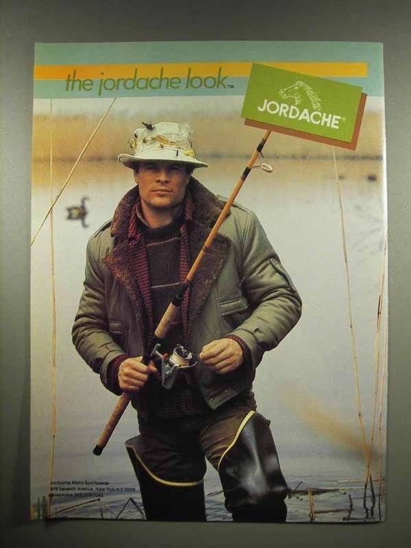 1982 Jordache Clothes Ad - The Jordache Look
