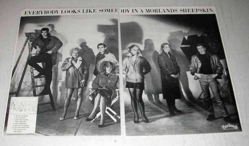 1984 Morlands Sheepskin Clothes Ad - Looks Like Someone