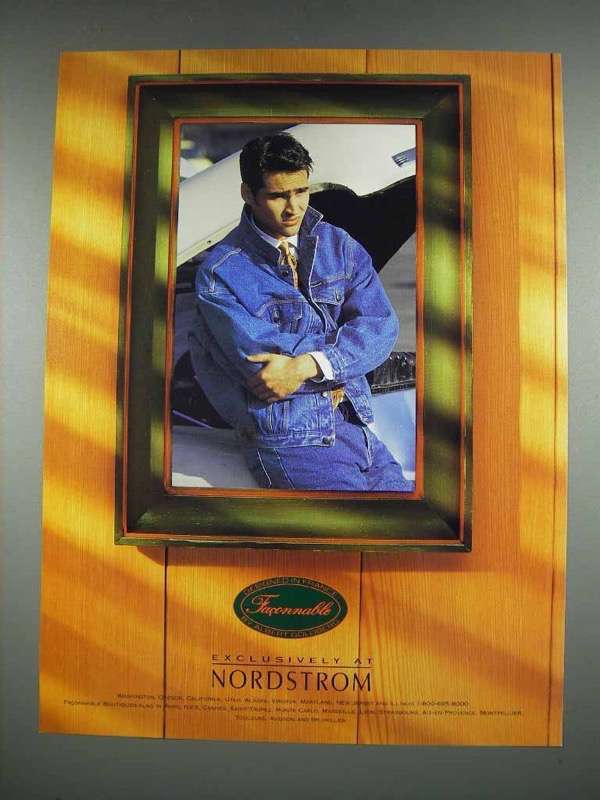 1992 Fa?onnable Fashion Ad - Exclusively at Nordstrom