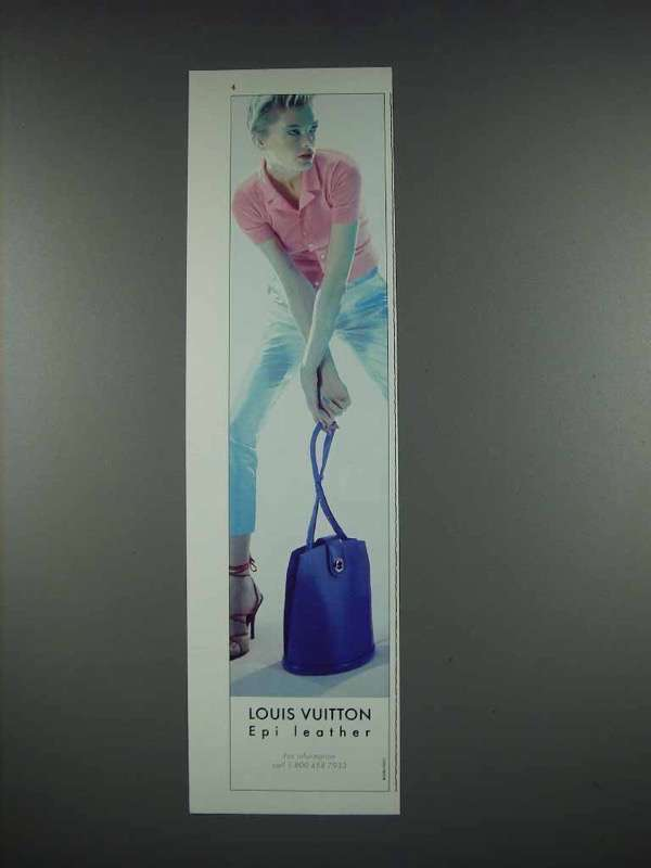 1997 Louis Vuitton Epi Leather Bag Ad