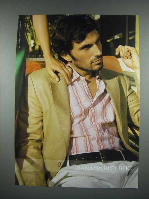 2004 Banana Republic Fashion Ad