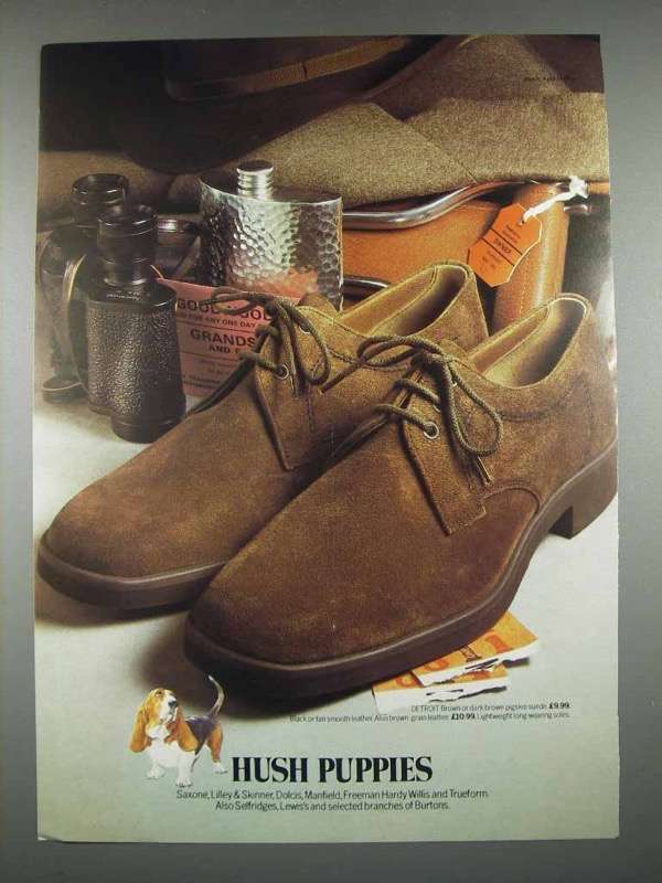 1978 Hush Puppies Detroit Shoes Ad