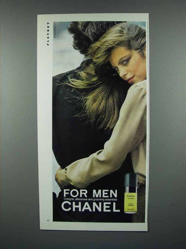 1980 Chanel for Men Cologne Ad