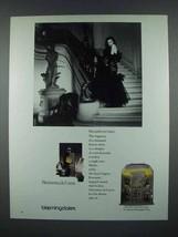 1985 Nocturnes de Caron Perfume Ad - $14.99