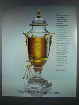 1986 Nocturnes de Caron Perfume Ad - Indefinable - $14.99
