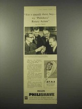 1955 Philips Philishave Electric Shaver Ad, Eric Barker - $14.99