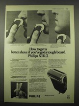 1973 Philips XTR.7 Electric Shaver Ad - A Better Shave - $14.99