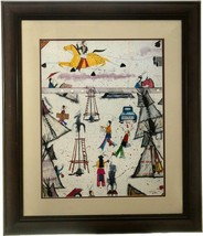 """It's About Time"" 35.5"" x 30"" Framed Indian Poster by Sioux Randy Lee Wh... - $340.00"