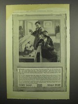1914 Ivory Soap Ad - Brightening Up Oil Paintings - $14.99