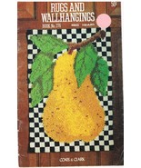Vintage Red Heart Rugs and Wall Hangings Book N... - $6.99
