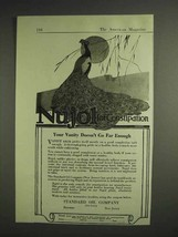 1917 Standard Oil Company Nujol for Constipation Ad - Your Vanity Doesn't Go Far - $14.99