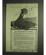 1917 Standard Oil Company Nujol for Constipation Ad - Your Vanity Doesn'... - $14.99