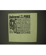 1917 Mead The Ranger Bicycle Ad - $14.99