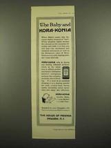 1918 Mennen Kora-Konia Powder Ad - The Baby - $14.99