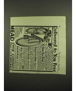 1918 Mead Ranger Bicycle Ad - $14.99