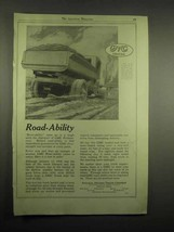 1918 GMC Truck Ad - Road-Ability - $14.99