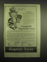 1918 Campbell's Vegetable Soup Ad - I Need It - $14.99