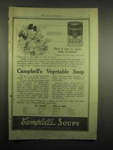 1918 Campbell's Vegetable Soup Ad - Does It Pay to Make - $14.99
