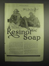 1918 Resinol Soap Ad - Your Boy Over There Will Welcome - $14.99