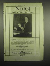 1918 Standard Oil Company Nujol Ad - Constipation - $14.99